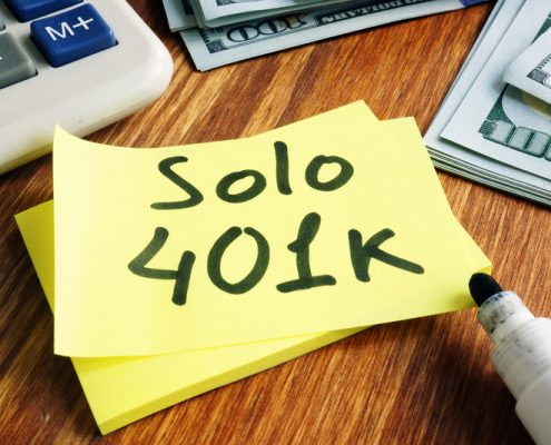 Self-Directed Solo 401(k)
